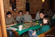 Wołek, Michał, Łukasz, Marek i Zosia grają w Ticket to Ride
