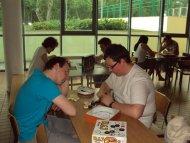 Popularne były gry 2-osobowe lub w wariantach 2-osobowych :)