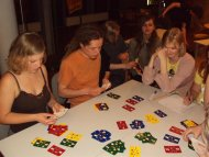 Przy stoliku spotkało się 4 najlepszych z 16-tki ...