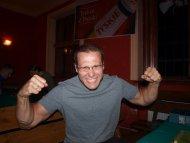 Tak się cieszył Rokter jak wygrał ;>